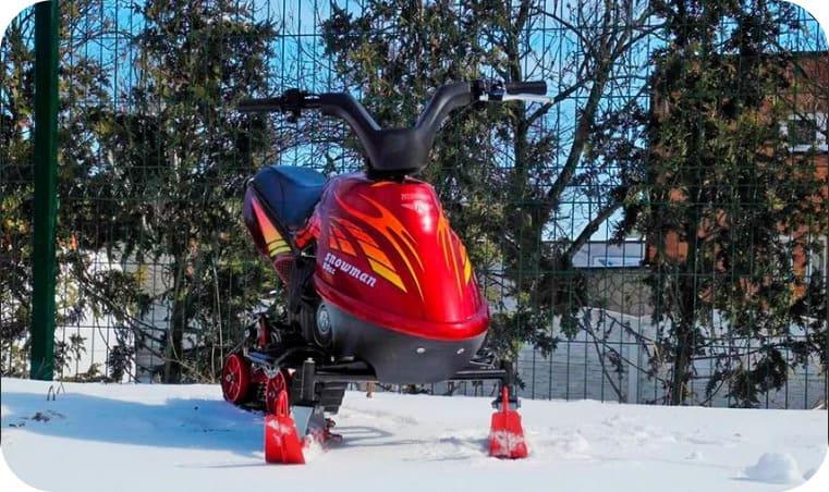 снегоход SnowRunner Max 80