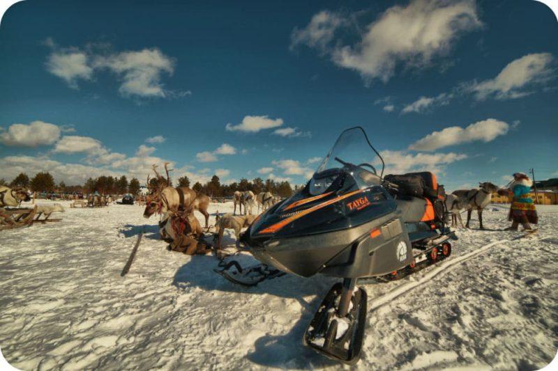 Проходимость снегохода