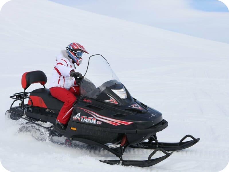 Снегоход Атака Тайга