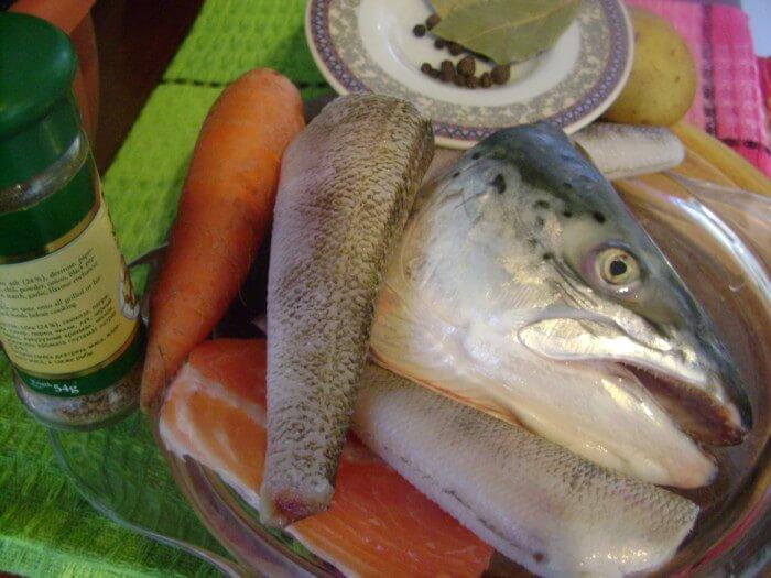 Рыбные супы на бульоне из головы и хвоста