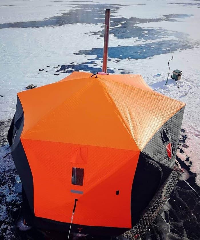 Удобство палатки куб