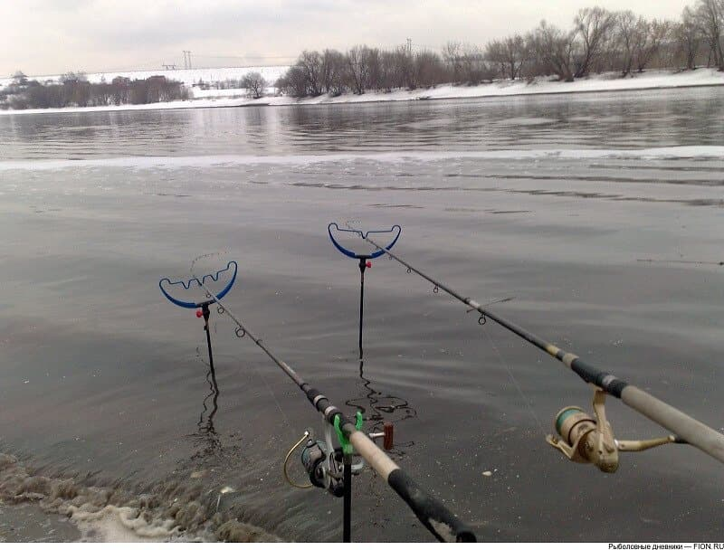 Рыбная ловля на фидеры