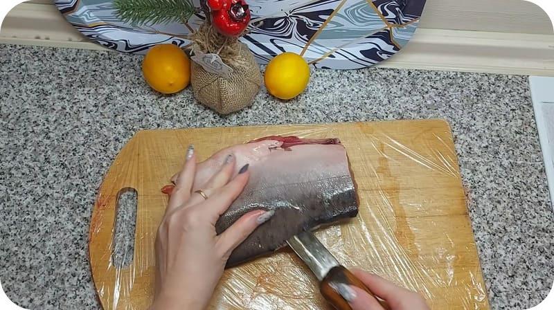 Разделка рыбы для супа