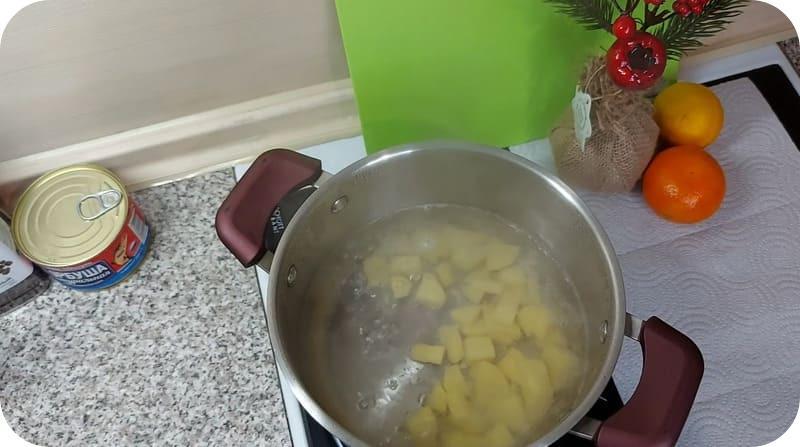 Картофель для супа