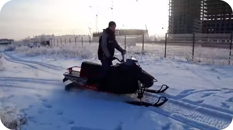 Мощность снегохода