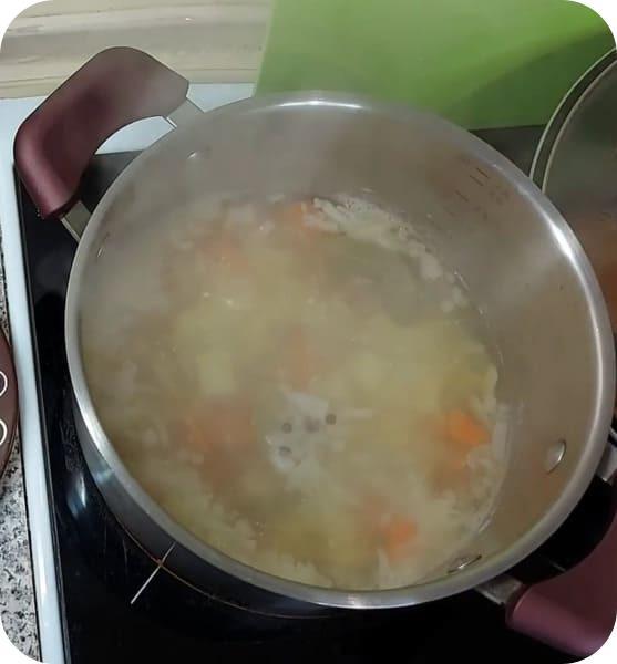 Ароматный суп из щуки