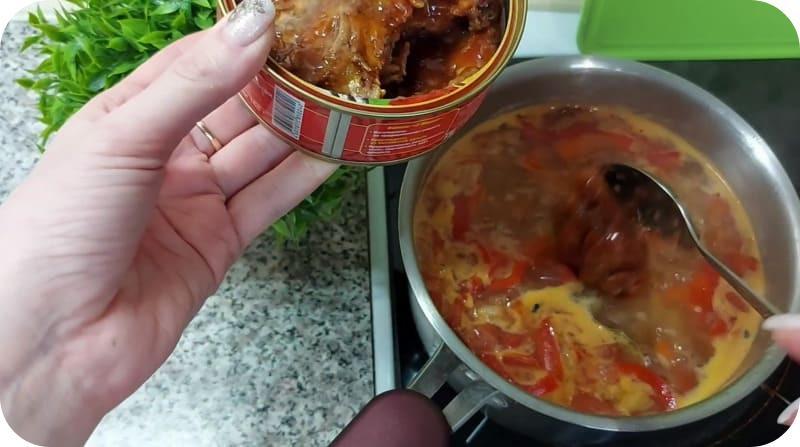 Выбор кильки для супа