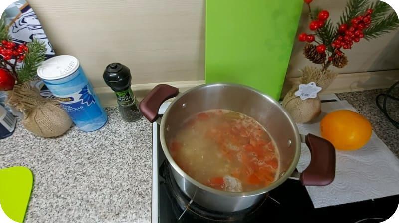 Вкусный суп из скумбрии