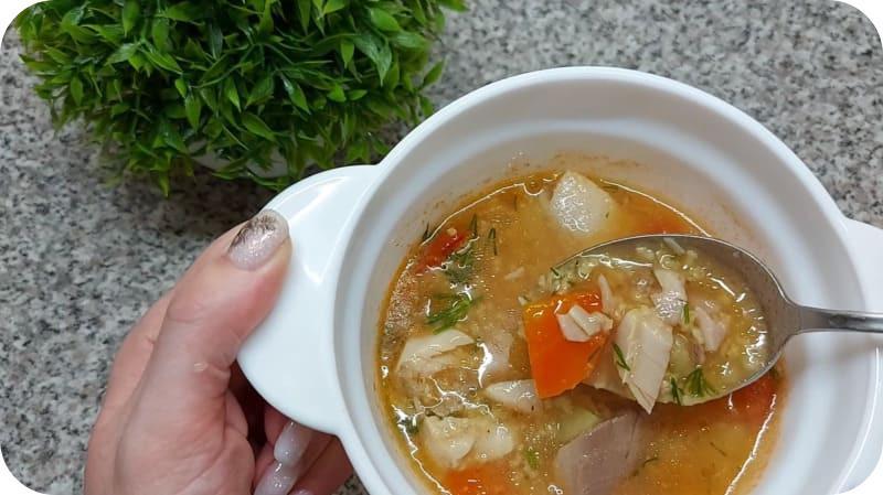 Суп из сазана по-домашнему
