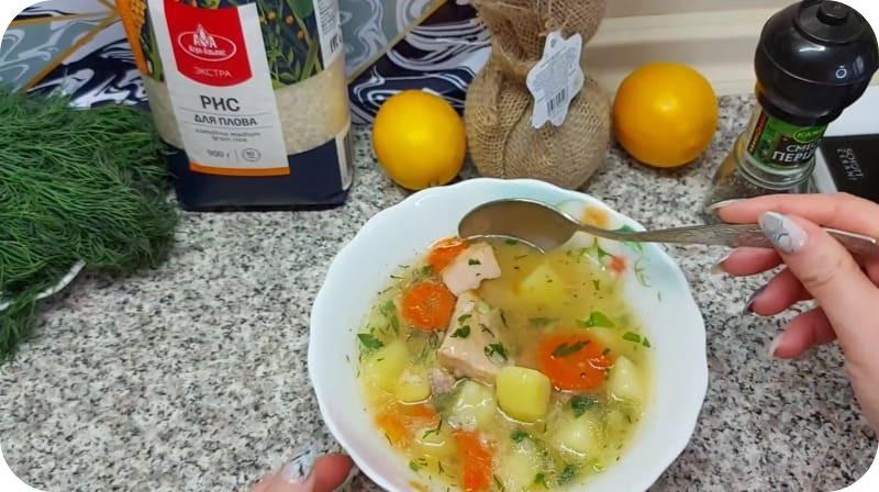 Суп готов к употреблению