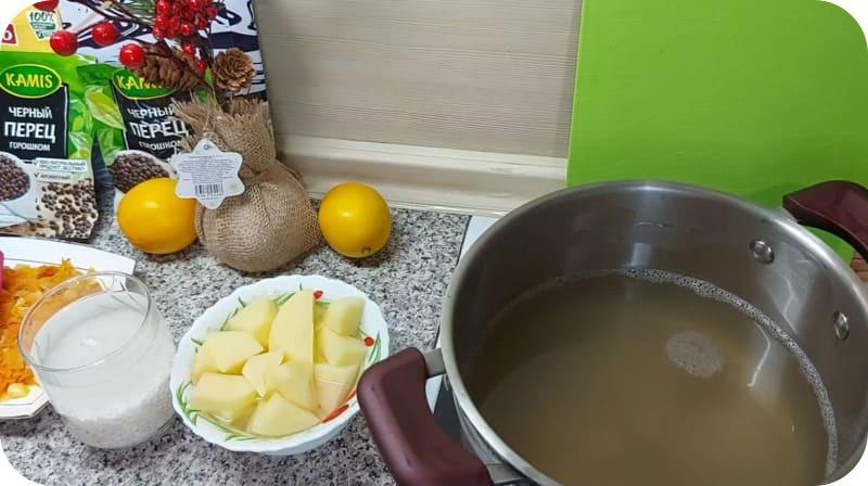 Бульон для ароматного супа