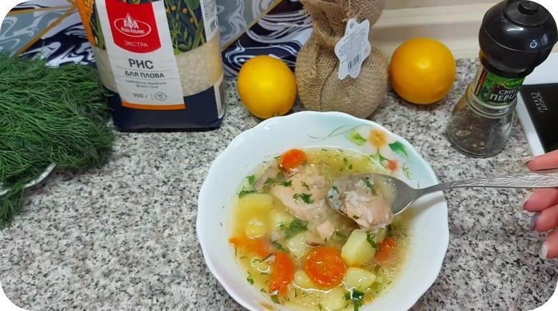 Полезный суп из горбуши