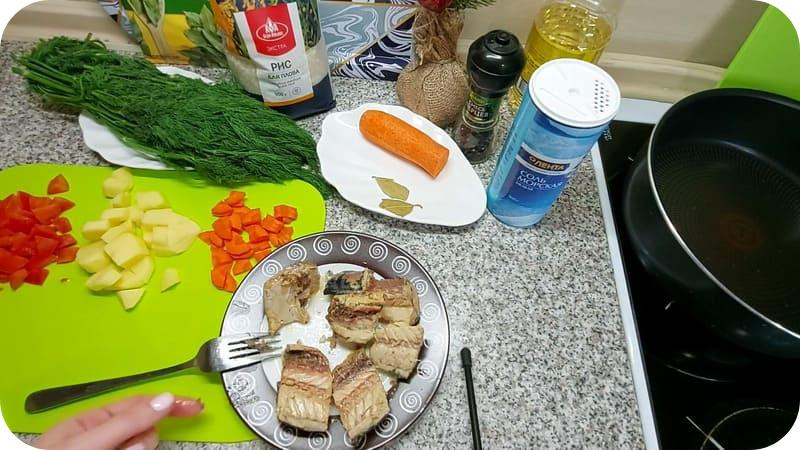 Сардины для супа