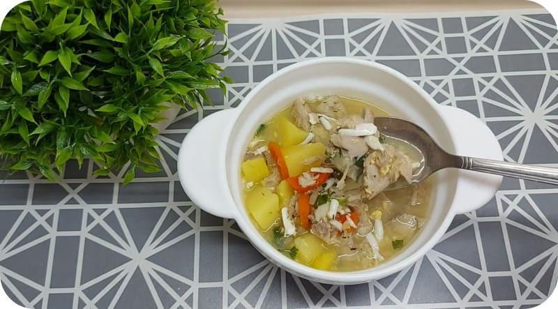 Наваристый суп из карпа