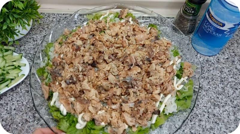 Консервы для салата