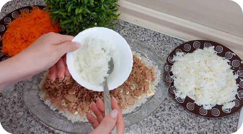 Рис для заправки салата