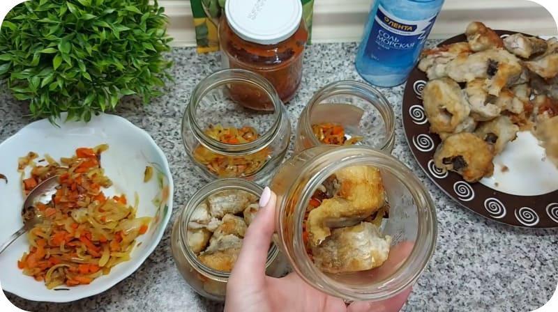 Приготовление рыбных консерв