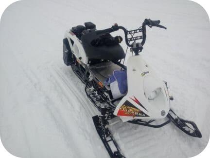 Снегоход Рыбинка на американском моторе