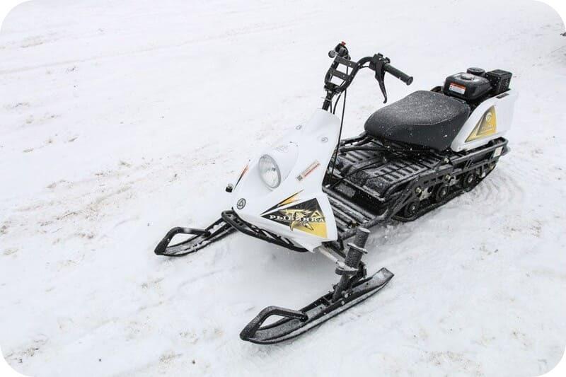Эффективность снегохода Рыбинка