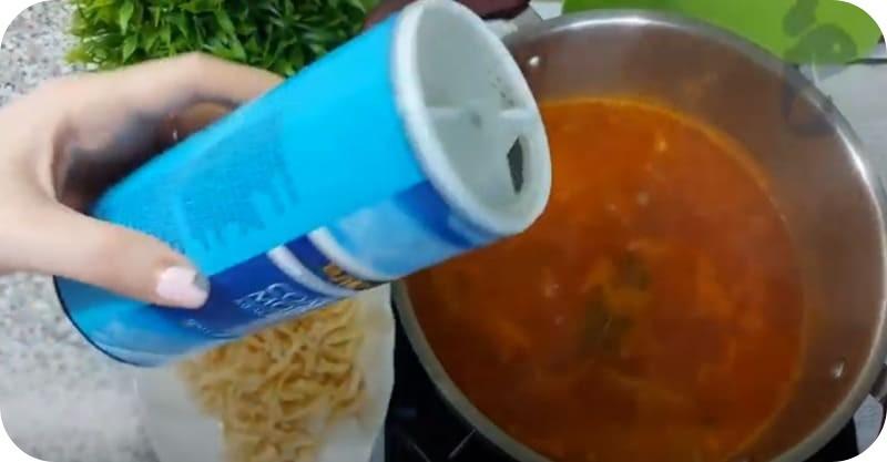 Рыбная солянка вкусная