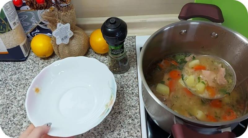 Аппетитный суп