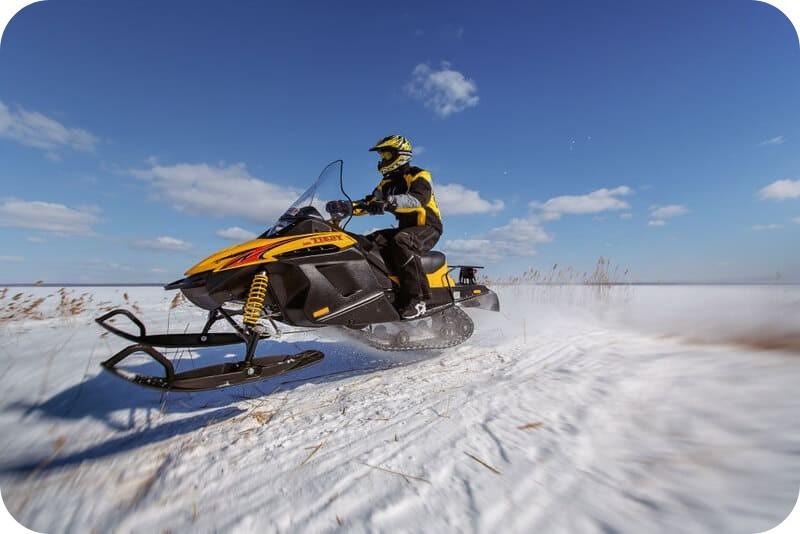 Проходимость снегохода Тикси
