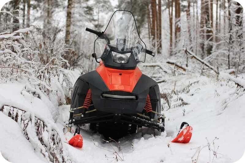 Эффективность снегохода Irbis