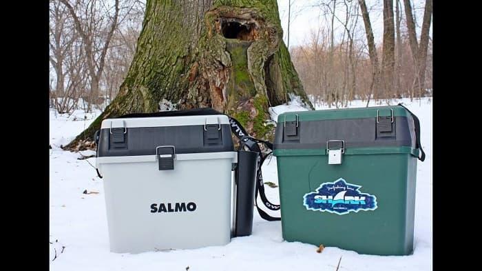 Ящик рыбака для зимней ловли