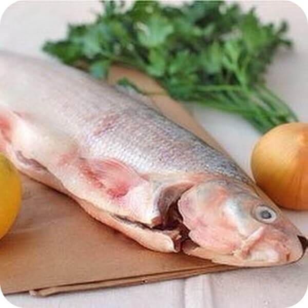 разделка рыбы муксун