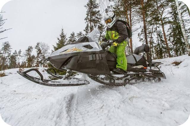 Снегоход патруль Тайга
