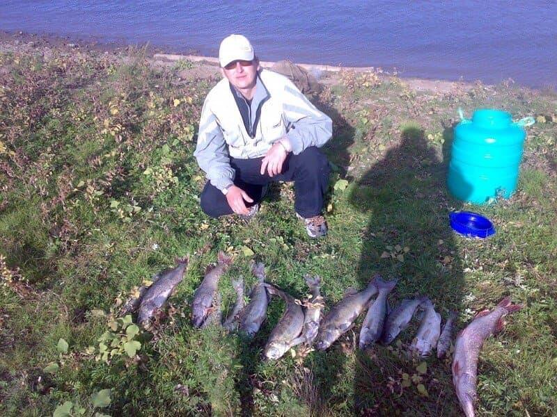 рыбалка в сентябре в Башкирии
