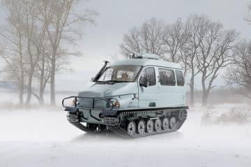 снегоболотоход бобр