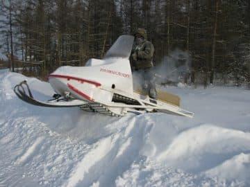 снегоход промысловик