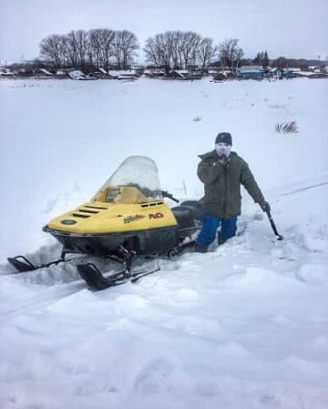 снегоход рысь 113