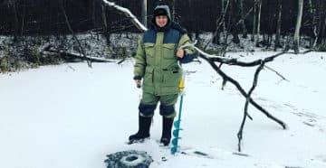 тубус для ледобура на снегоход