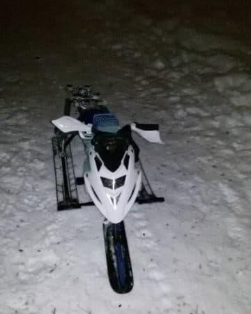электрический снегоход